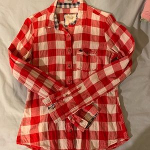 Women's Abercrombie and Fitch Flannel Buttondown